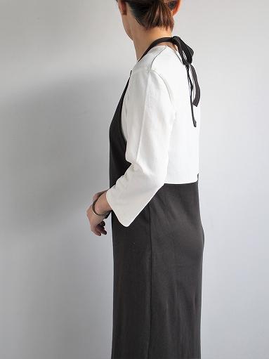 THE HINOKI Organic Cotton 3/4 Sleeve Layered Dress (PRODUCTS FOR US)_b0139281_1651458.jpg