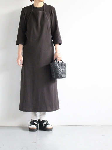 THE HINOKI Organic Cotton 3/4 Sleeve Layered Dress (PRODUCTS FOR US)_b0139281_1651963.jpg