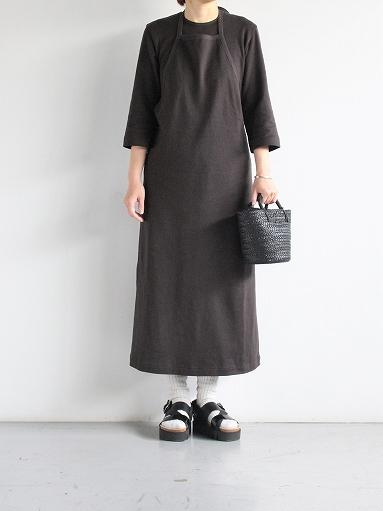 THE HINOKI Organic Cotton 3/4 Sleeve Layered Dress (PRODUCTS FOR US)_b0139281_16525972.jpg