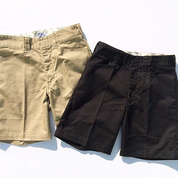 【DELIVERY】 STANDARD CALIFORNIA - Coolmax Stretch Twill Work Shorts_a0076701_12273103.jpg