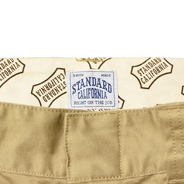 【DELIVERY】 STANDARD CALIFORNIA - Coolmax Stretch Twill Work Shorts_a0076701_12295115.jpg