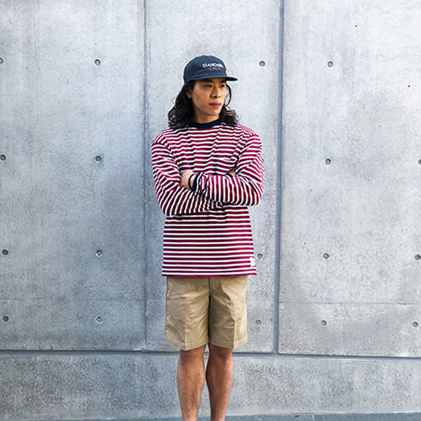 【DELIVERY】 STANDARD CALIFORNIA - Coolmax Stretch Twill Work Shorts_a0076701_12302940.jpg