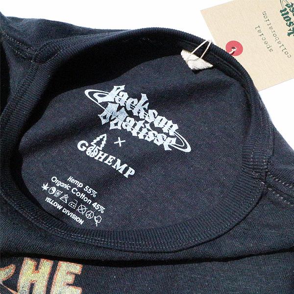 【DELIVERY】JACKSON MATISSE - GO HEMP×JM 70\'s Style Logo T_a0076701_12391190.jpg