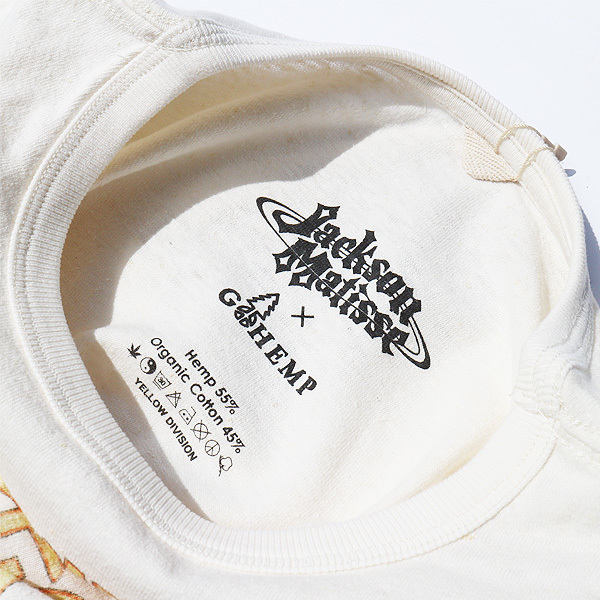 【DELIVERY】JACKSON MATISSE - GO HEMP×JM 70\'s Style Logo T_a0076701_12393892.jpg
