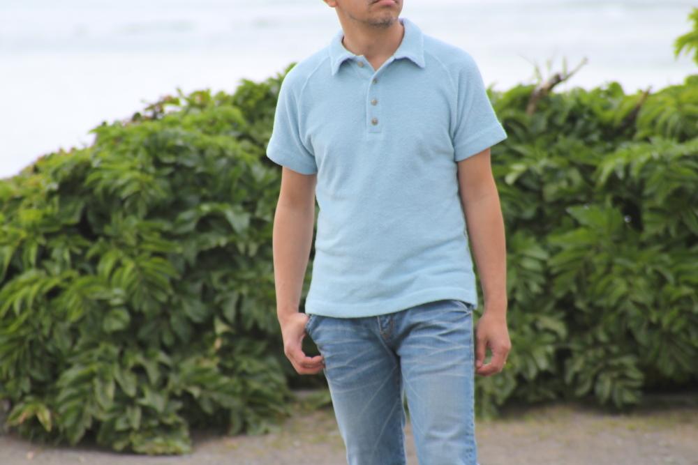 ほっこり素材のビーチパイルポロシャツ♪ 今年も出来上がりました!新色登場♪_d0108933_18592762.jpg