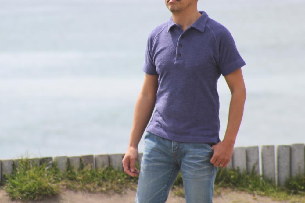 ほっこり素材のビーチパイルポロシャツ♪ 今年も出来上がりました!新色登場♪_d0108933_19010806.jpg