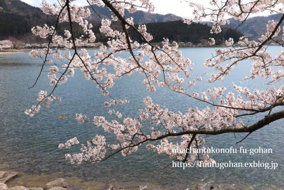 イースターのおうちバル&琵琶湖の桜散歩_c0326245_11382122.jpg