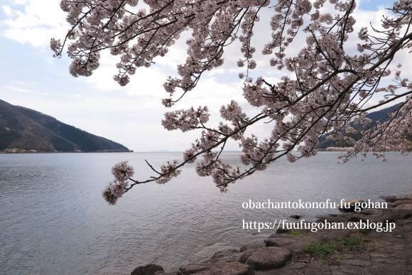 イースターのおうちバル&琵琶湖の桜散歩_c0326245_11383110.jpg