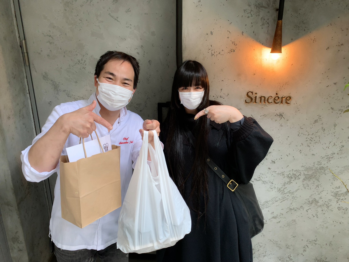 【テイクアウト情報】北参道「Sincere シンシア」_f0232060_12225586.jpg