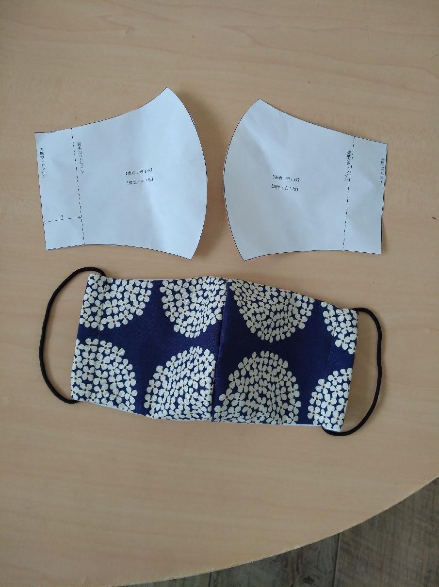 マスク 無料 ユザワヤ 型紙