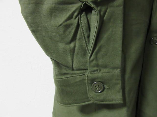Deadstock ミリタリーシャツ_b0166471_00454285.jpg