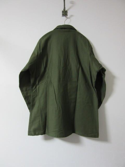 Deadstock ミリタリーシャツ_b0166471_00455725.jpg