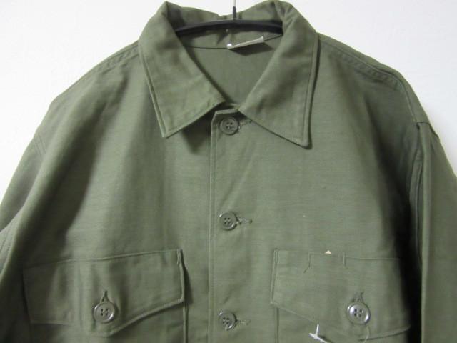 Deadstock ミリタリーシャツ_b0166471_01000915.jpg