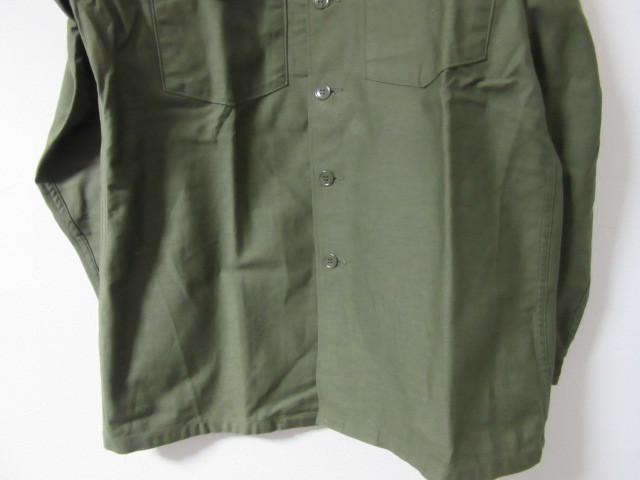 Deadstock ミリタリーシャツ_b0166471_01004039.jpg