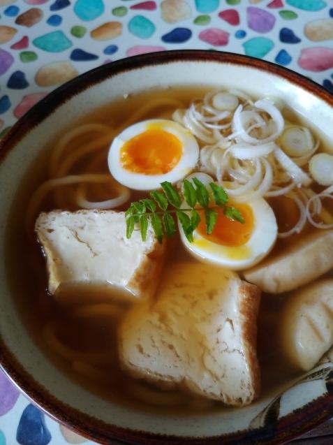 お昼のうどんと韓国コーヒー_c0162773_14085088.jpg
