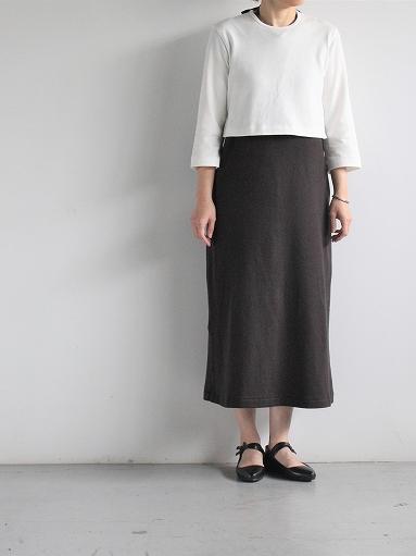 THE HINOKI Organic Cotton 3/4 Sleeve Layered Dress (PRODUCTS FOR US)_b0139281_1120319.jpg