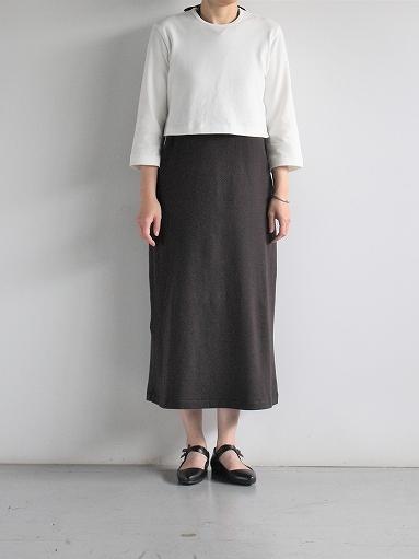 THE HINOKI Organic Cotton 3/4 Sleeve Layered Dress (PRODUCTS FOR US)_b0139281_11213962.jpg