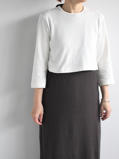 THE HINOKI Organic Cotton 3/4 Sleeve Layered Dress (PRODUCTS FOR US)_b0139281_1121756.jpg