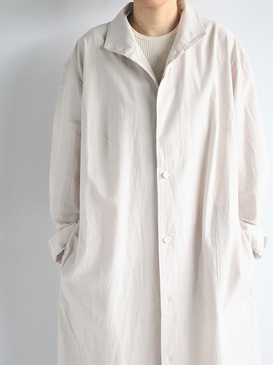 THE HINOKI Cotton Voile Stand Up Collar Shirt Dress (LADIES ONLY)_b0139281_13273273.jpg