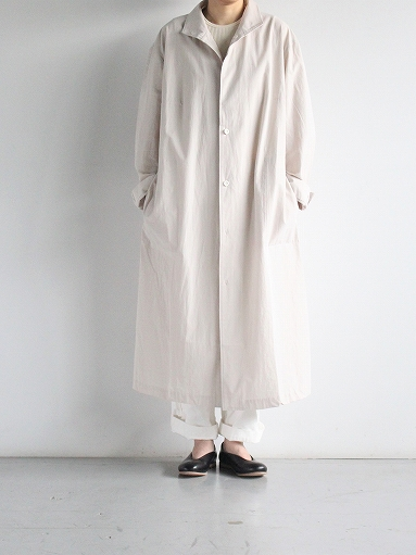 THE HINOKI Cotton Voile Stand Up Collar Shirt Dress (LADIES ONLY)_b0139281_13323481.jpg