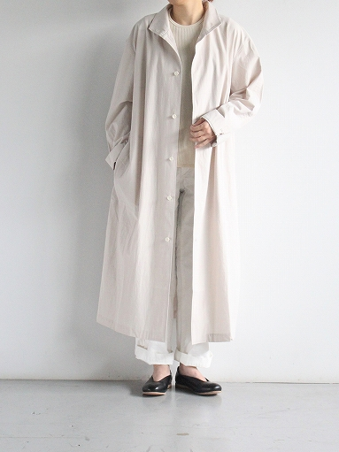 THE HINOKI Cotton Voile Stand Up Collar Shirt Dress (LADIES ONLY)_b0139281_13331288.jpg