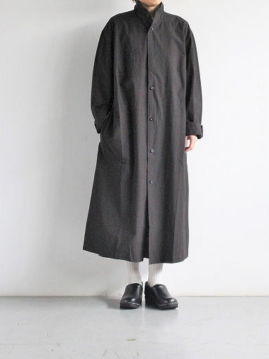 THE HINOKI Cotton Voile Stand Up Collar Shirt Dress (LADIES ONLY)_b0139281_13335057.jpg