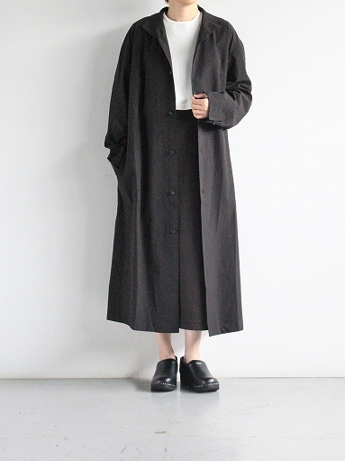 THE HINOKI Cotton Voile Stand Up Collar Shirt Dress (LADIES ONLY)_b0139281_13335898.jpg