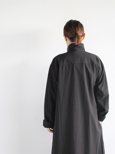 THE HINOKI Cotton Voile Stand Up Collar Shirt Dress (LADIES ONLY)_b0139281_1341958.jpg