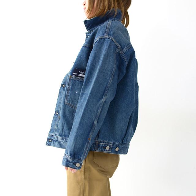 ordinary fits [オーディナリーフィッツ] DENIM JACKET 1ST [OF-J013] デニムジャケット・長袖・LADY\'S_f0051306_15503712.jpg