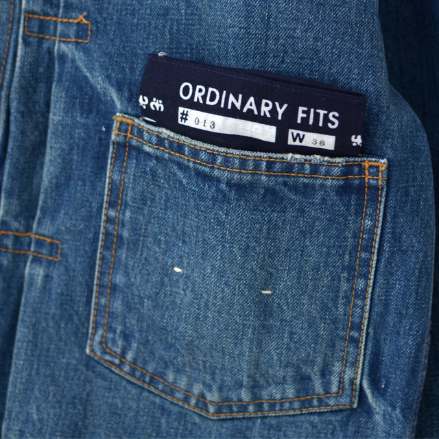 ordinary fits [オーディナリーフィッツ] DENIM JACKET 1ST [OF-J013] デニムジャケット・長袖・LADY\'S_f0051306_15503739.jpg