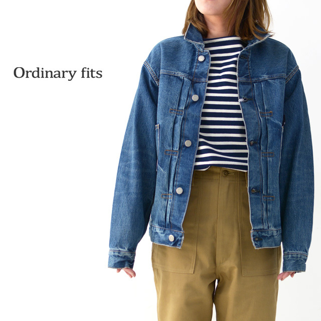 ordinary fits [オーディナリーフィッツ] DENIM JACKET 1ST [OF-J013] デニムジャケット・長袖・LADY\'S_f0051306_15503782.jpg