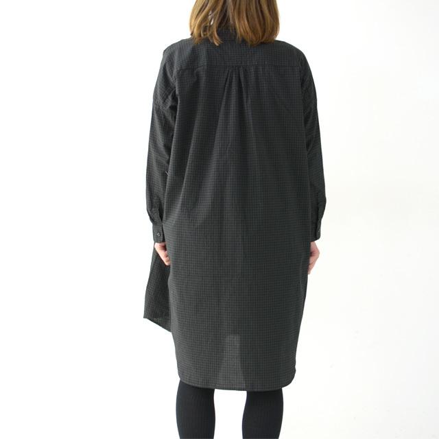 ordinary fits [オーディナリーフィッツ] LONG BARBER SHIRTS CHECK [OF-S026] ロングバーバーシャツ・ギンガムチェックシャツ・レディース・_f0051306_16054650.jpg