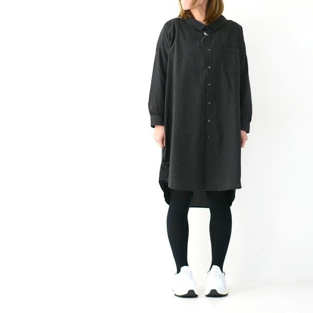 ordinary fits [オーディナリーフィッツ] LONG BARBER SHIRTS CHECK [OF-S026] ロングバーバーシャツ・ギンガムチェックシャツ・レディース・_f0051306_16054700.jpg