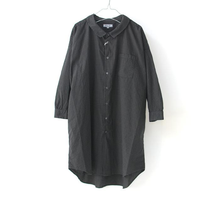 ordinary fits [オーディナリーフィッツ] LONG BARBER SHIRTS CHECK [OF-S026] ロングバーバーシャツ・ギンガムチェックシャツ・レディース・_f0051306_16054796.jpg