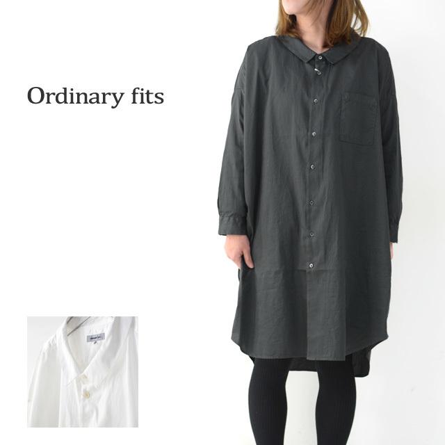 ordinary fits [オーディナリーフィッツ] LONG BARBER SHIRTS SOLID [OF-S025] ロングバーバーシャツ・ロングシャツ・レディース_f0051306_16223257.jpg
