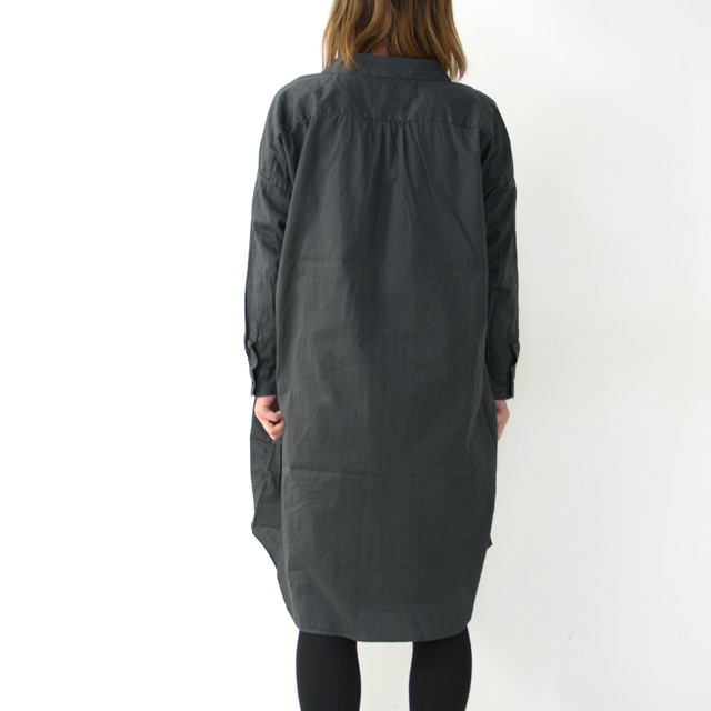 ordinary fits [オーディナリーフィッツ] LONG BARBER SHIRTS SOLID [OF-S025] ロングバーバーシャツ・ロングシャツ・レディース_f0051306_16223374.jpg