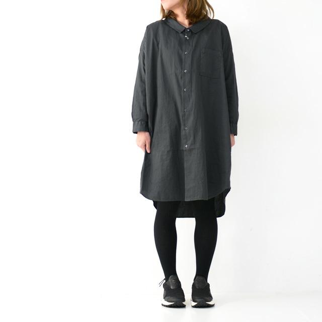 ordinary fits [オーディナリーフィッツ] LONG BARBER SHIRTS SOLID [OF-S025] ロングバーバーシャツ・ロングシャツ・レディース_f0051306_16223375.jpg