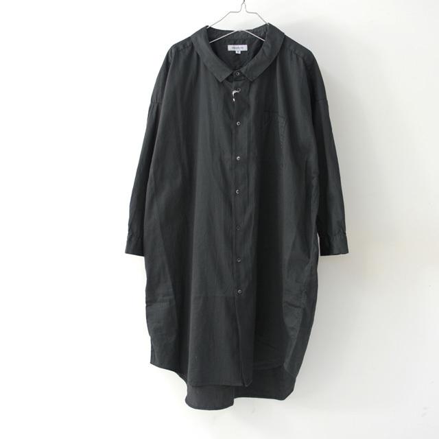 ordinary fits [オーディナリーフィッツ] LONG BARBER SHIRTS SOLID [OF-S025] ロングバーバーシャツ・ロングシャツ・レディース_f0051306_16223385.jpg