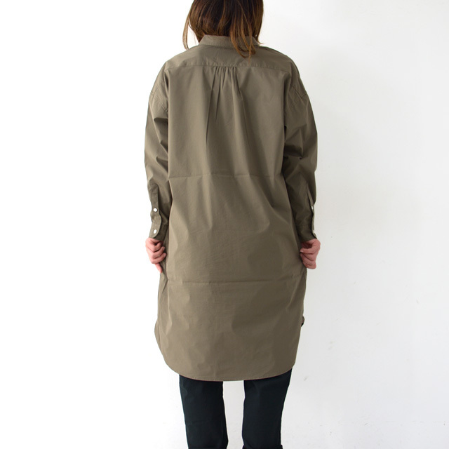 JAMES&CO. [ジェームスアンドコー] W\'s Big Shirts Dress [JD203S] ビッグシャツドレス・ロングシャツ・シャツワンピ・LADY\'S_f0051306_16300572.jpg