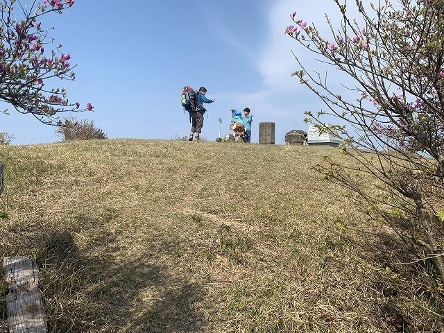 春の元越山登山_d0177220_14255345.jpg