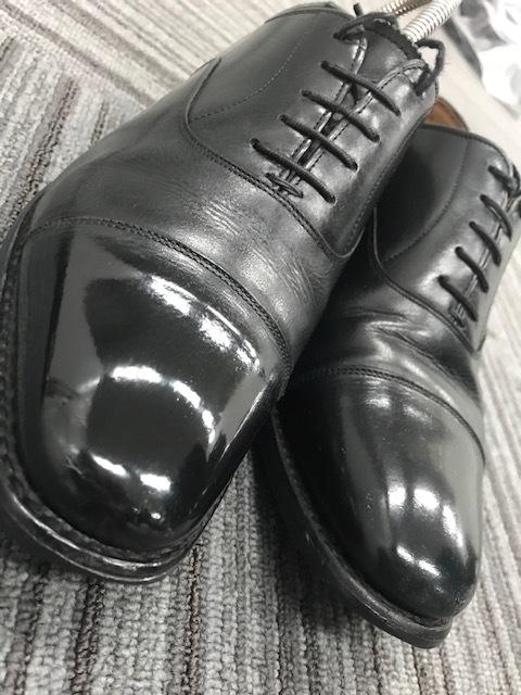 おうちで靴磨き選手権_b0226322_13293285.jpg