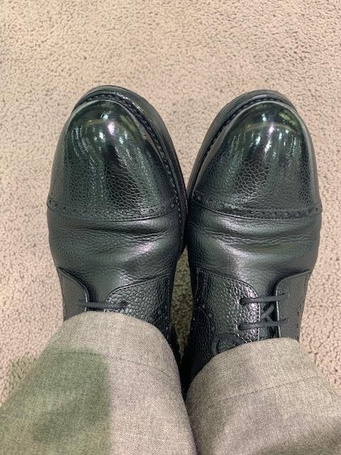 おうちで靴磨き選手権_b0226322_13490015.jpeg