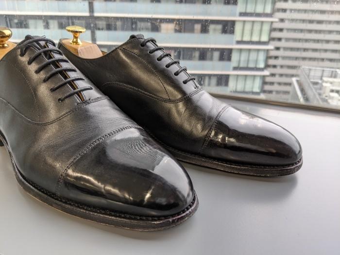 おうちで靴磨き選手権_b0226322_15433290.jpg