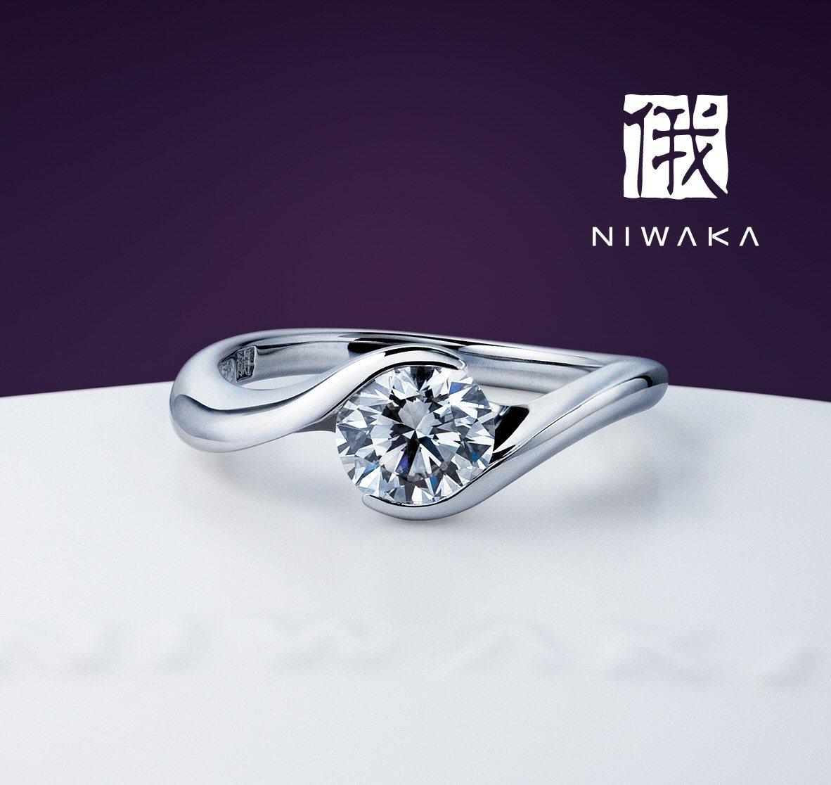 「麗(れい)」の物語~形が整った美しさと丈夫さ。引っ掛らなくて役立つ婚約指輪の代表作~俄の婚約指輪のエピソード_f0118568_15143111.jpg