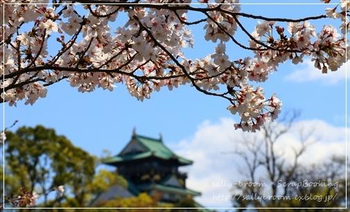 サクラサク*大阪城_d0132371_15131677.jpg