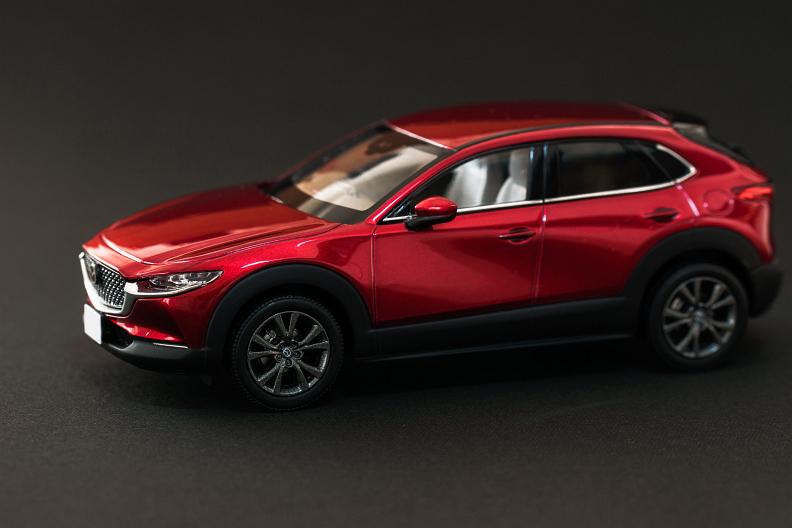 CX-30のモデルカーをもらいました_f0189086_17491567.jpg