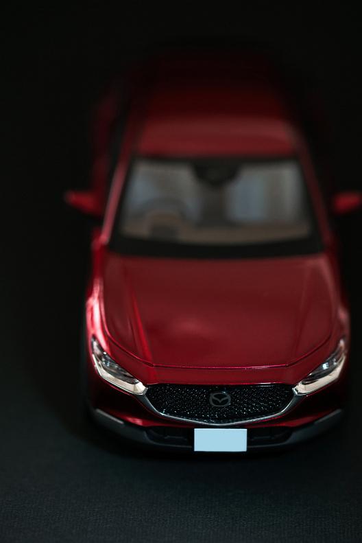 CX-30のモデルカーをもらいました_f0189086_17522092.jpg