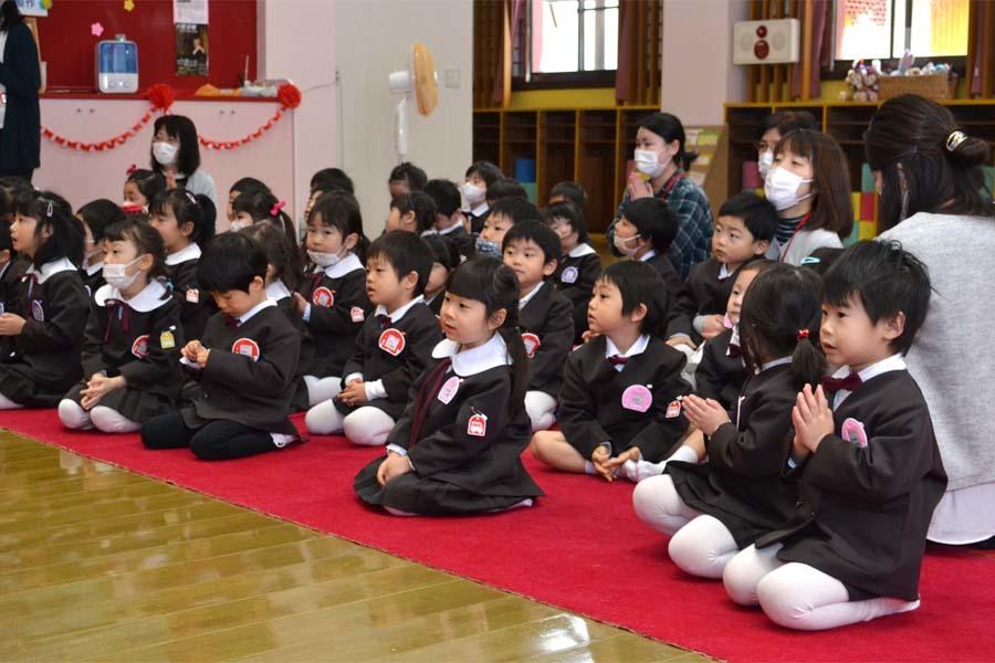 第一幼稚園 新入園児を迎える会_d0353789_14300279.jpg