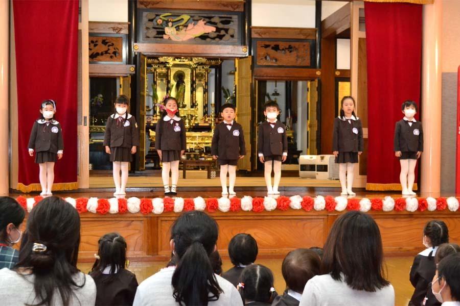 第一幼稚園 新入園児を迎える会_d0353789_14313957.jpg