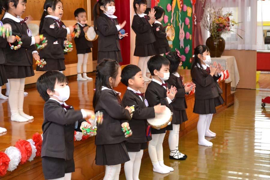 第一幼稚園 新入園児を迎える会_d0353789_14314775.jpg
